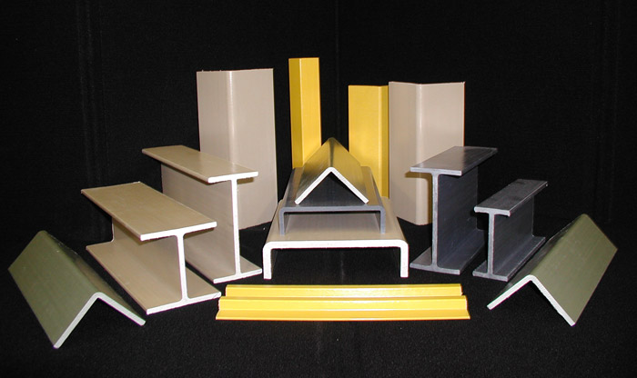 Fiberglass Structural Sections : Pearson sustainable solutions composite shapes
